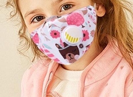 Masques de protection réutilisables Enfant