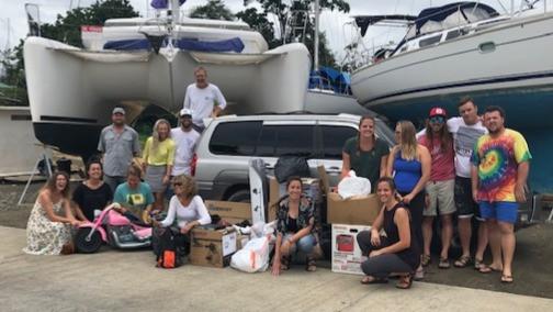 Adonai Sailing Missionary Crew