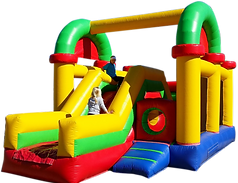Inflatable Kiddie Maze Obstacle Course