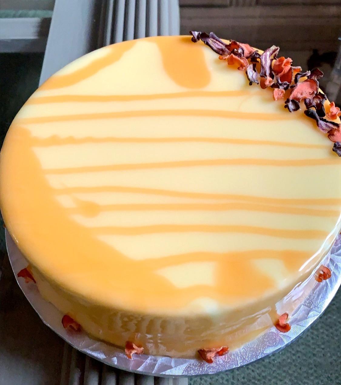 Carrot Cake Entremet
