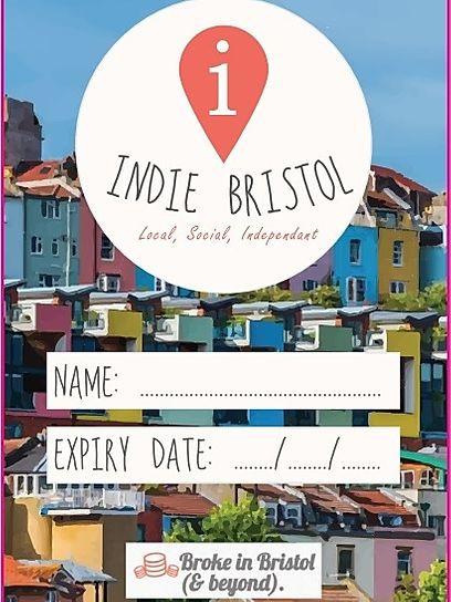 Indie Bristol discount card