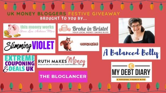 UK money bloggers logos including Broke in Bristol