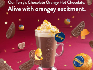 How to get your free Costa Terry's Chocolate Orange