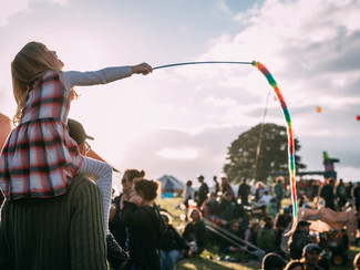 How to get into Glastonbury for free...