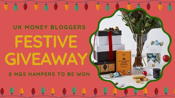 UK Money bloggers festive giveaway