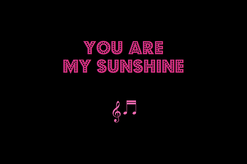 YOU ARE MY SUNSHINE as sung by JOHNNY CASH