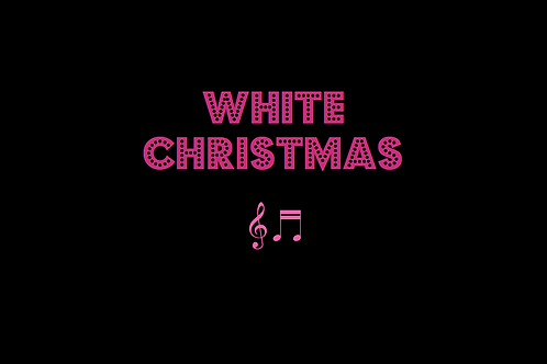 WHITE CHRISTMAS as sung by BING CROSBY