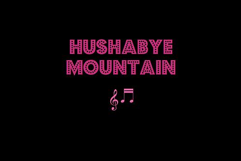 HUSHABYE MOUNTAIN from CHITTY CHITTY BANG BANG