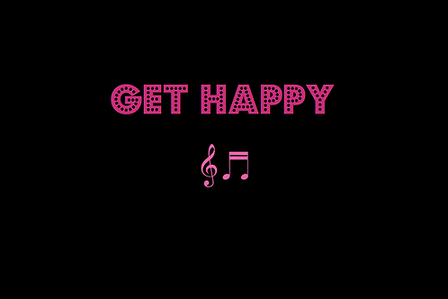GET HAPPY as sung by JUDY GARLAND