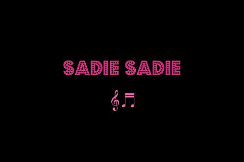 SADIE SADIE from FUNNY GIRL