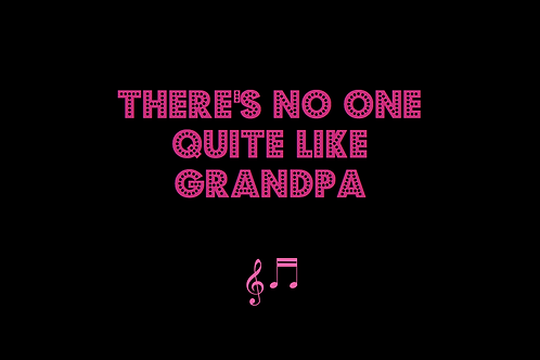 THERE'S NO ONE QUITE LIKE GRANDPA as sung by ST WINIFRED'S SCHOOL CHOIR