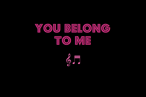 YOU BELONG TO ME as sung by DEAN MARTIN