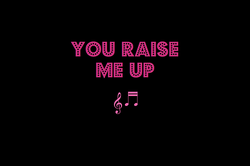 YOU RAISE ME UP as sung by JOSH GROBAN