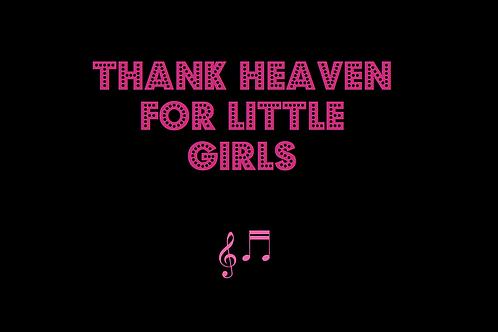 THANK HEAVEN FOR LITTLE GIRLS from GIGI