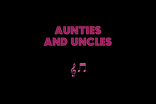 AUNTIES AND UNCLES as sung by THE JAM