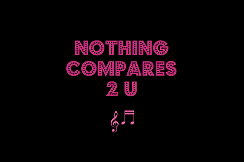 NOTHING COMPARES 2 U as sung by SINEAD O'CONNOR