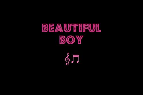 BEAUTIFUL BOY as sung by JOHN LENNON