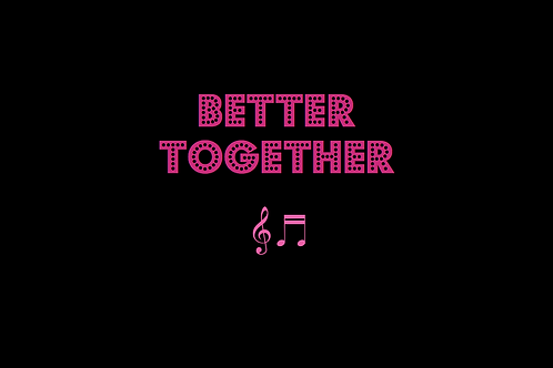 BETTER TOGETHER as sung by JACK JOHNSON
