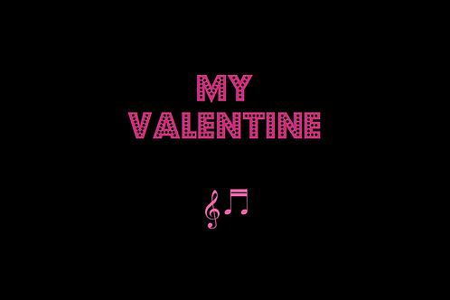 MY VALENTINE as sung by PAUL McCARTNEY