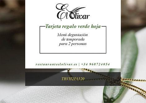 Tarjeta Regalo Menú #Confita2 - Menú Degustación para 2 personas