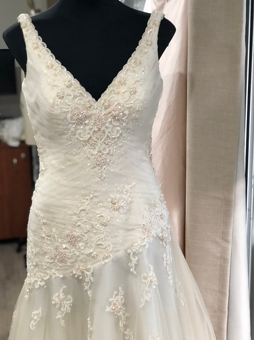 Champagne Bridal Gown