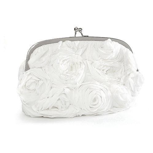 Soft Floral Bridal Evening Bag