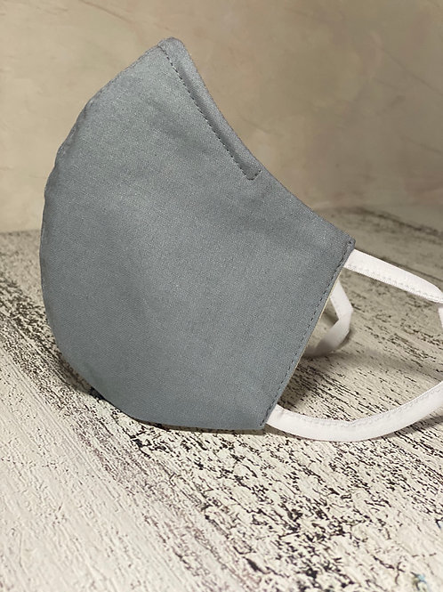 Cotton Face Mask -Grey