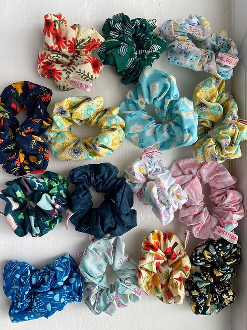 Hand made scrunchies