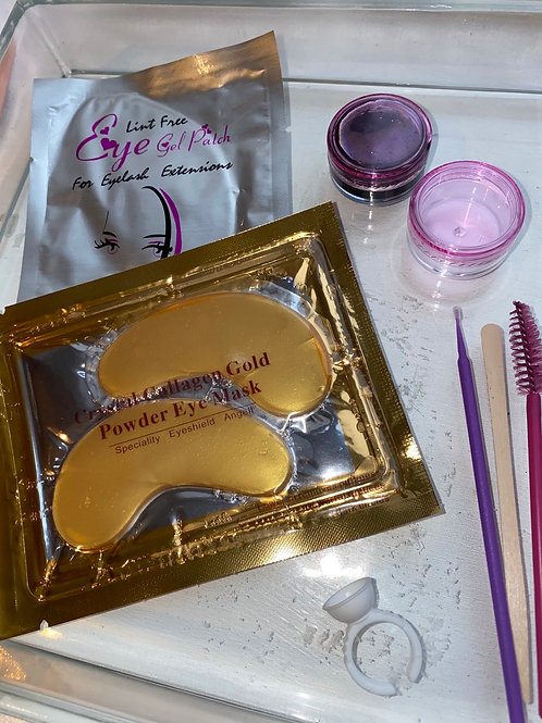 Eyelash tint kit