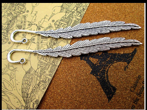 Feather book mark