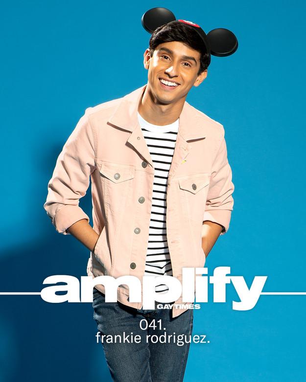 Frankie Rodriguez  for Gay Times Magazine  by Jesse Ashton Photography