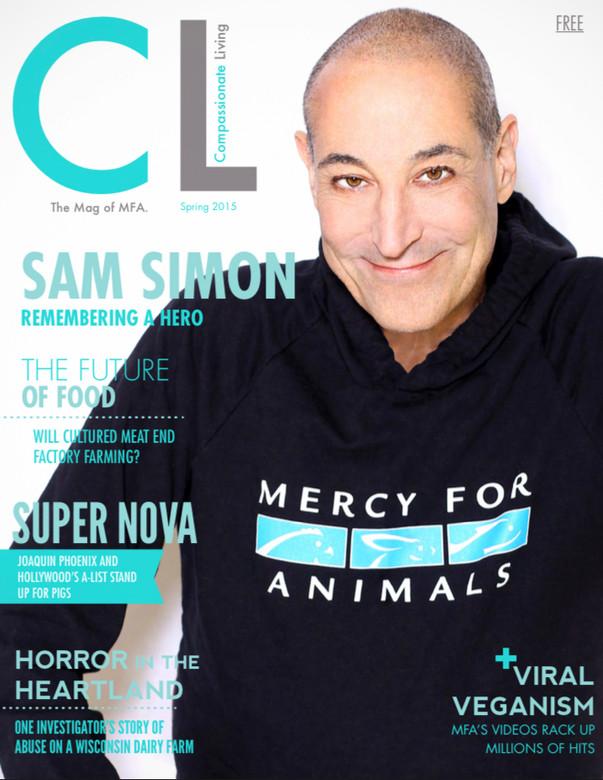 Sam Simon  for CL Magazine  by Jesse Ashton Photography