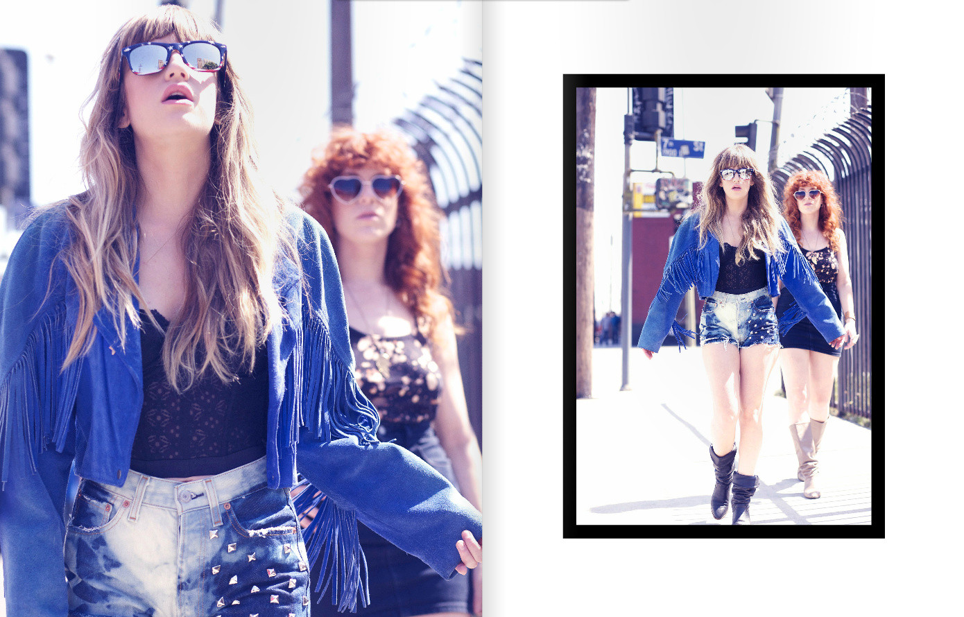 Deap Vally for XO Magazine  by Jesse Ashton Photography