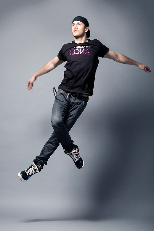 Robert Hoffman for Dancer Against Cancer  by Jesse Ashton Photography