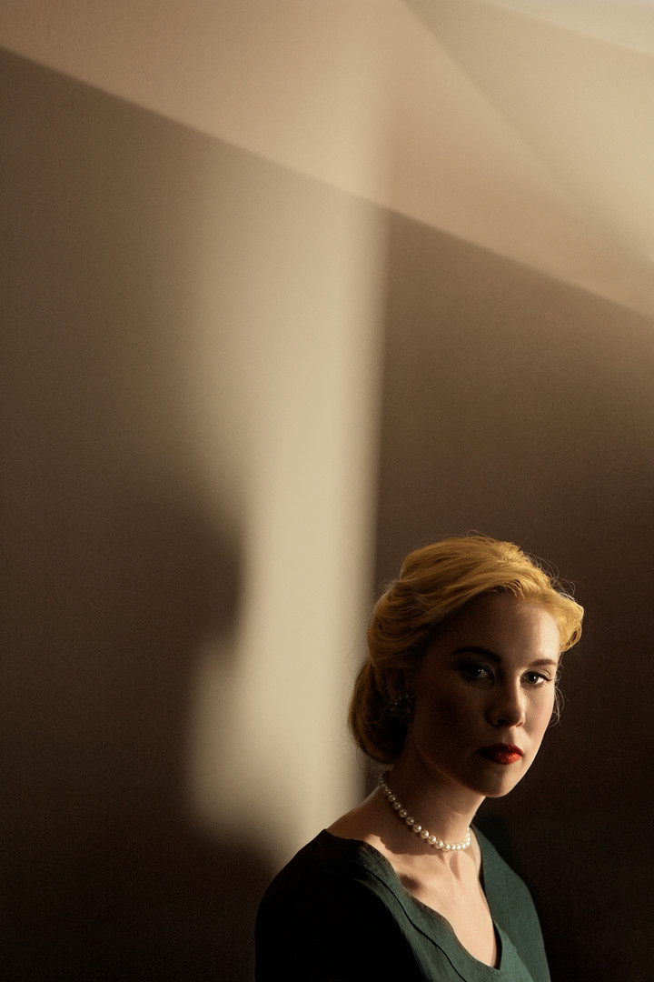 Elspeth Keller Scott as Grace Kelly  Jesse Ashton Photography