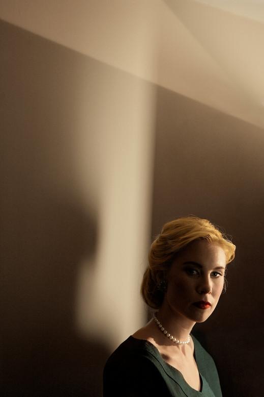 Elspeth Keller Scott as Grace Kelly  Jesse Ashton Photography
