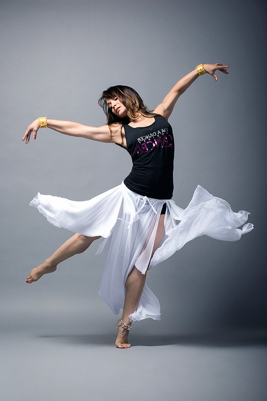 Mayte Garcia  for Dancer Against Cancer  by Jesse Ashton Photography