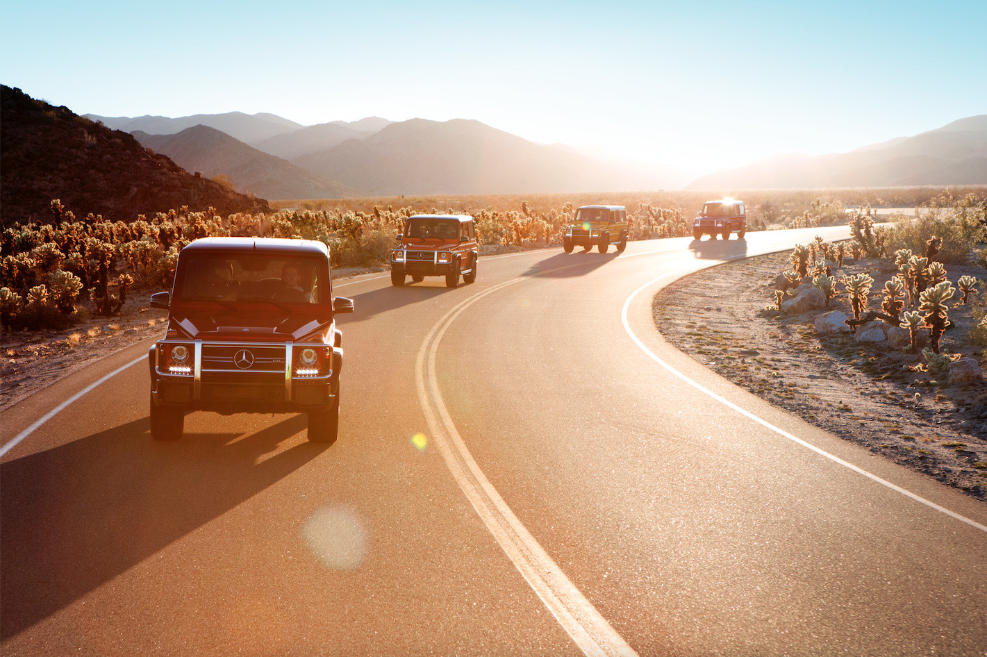 """Out On the Road""  for Mercedes Benz  by Jesse Ashton Photorgaphy"