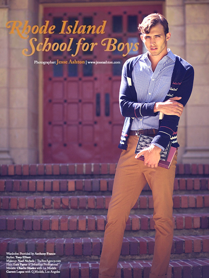 """Rhode Island School for Boys"" for Ouch Magazine.  by Jesse Ashton Photography"
