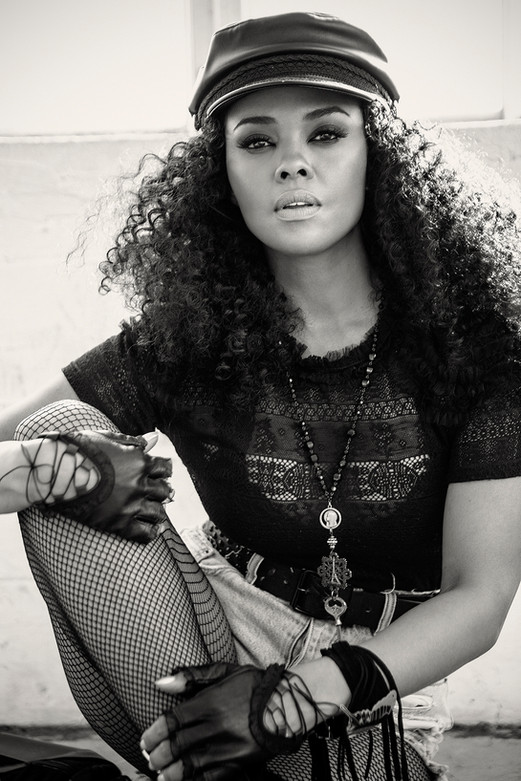 Sharon Leal for Obvious Magazine  by Jesse Ashton Photography