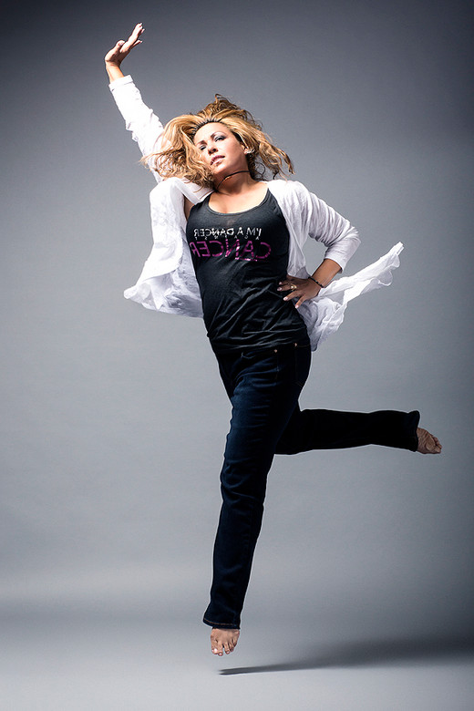 Liz Imperio for Dancer Against Cancer  by Jesse Ashton Photography