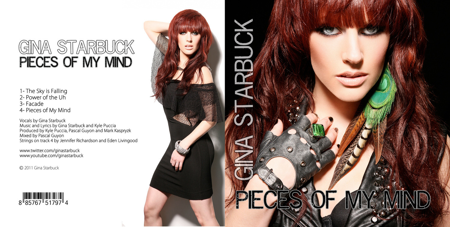 """Gina Starbuck """"Pieces of My Mind""""  by Jesse Ashton Photography"""