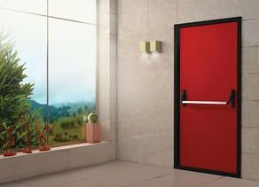 Обираємо безпечні протипожежні двері