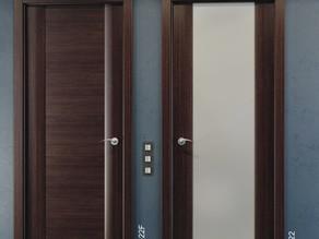 Переваги та недоліки міжкімнатних дверей зі склом та без