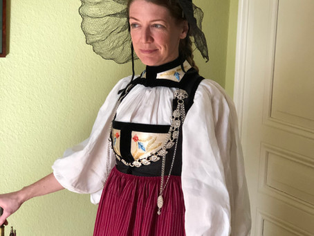 Die Coronatracht - oder eine Berner Tracht um 1820