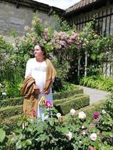 Eliane en 1800 au château de Wildegg