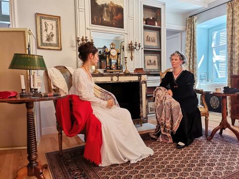 Alessandra und Tanja im Gespräch über Schals