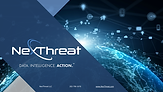 Nexthreat Cyber Presentation Front Page.