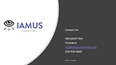 IAMUS Cyber Presentation Front Page.png