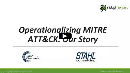 Operationalizing MITRE ATT&CK with Micha